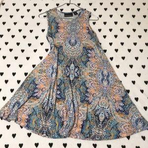 Cynthia Rowley paisley tank dress